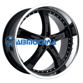 18x8 5x112 ET32 d72 TSW Jarama Gloss Black Mirror Cut Lip