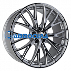 20x10.5 x120 ET25 d78.1 Eta Beta Piuma C Silver Black Face Shine