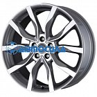19x8 5x108 ET45 d63.4 MAK Highlands Gun Metallic Mirror Face