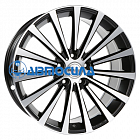 20x8.5 5x112 ET24 d66.5 Borbet BLX Matt Black Polished
