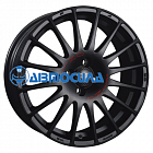 17x7.5 5x112 ET35 d75 OZ Superturismo GT Matt Black + Red Lettering